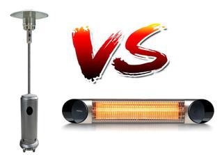 Las Estufas de exterior:  Setas de gas para exterior o Estufas eléctricas para exterior por infrarro