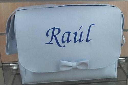 Bolso cochecito bebé con solapa y personalizado-MODELO RAUL