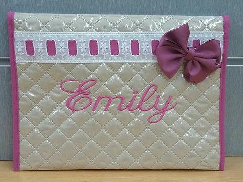 Portadocumentos personalizado bebé- MODELO EMILY