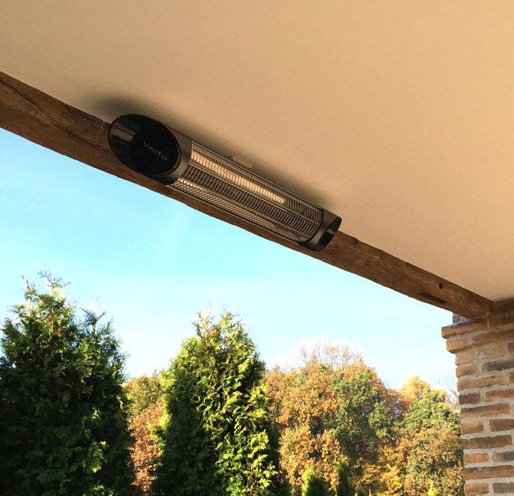 Calefactores infrarrojos exterior