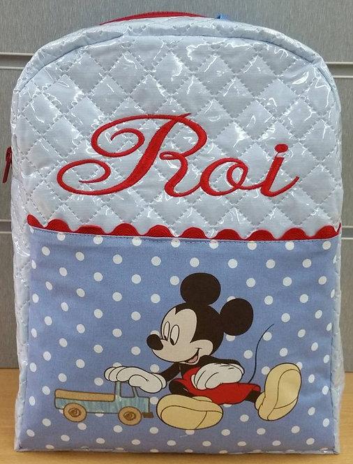 Mochila infantil personalizada Mickey Mouse-ROI