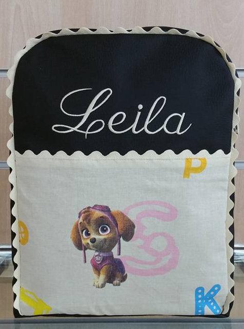 Mochila infantil personalizada Patrulla Canina Skye-LEYLA