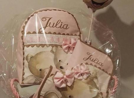 Regalos para bebés bordados y personalizados