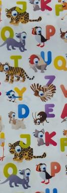 bata-escolar-animales-y-letras