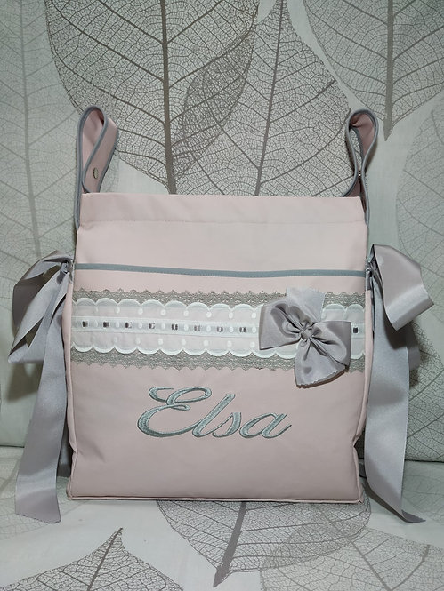 Bolso (Talega) para silla y carrito de bebé personalizado- MODELO ELSA