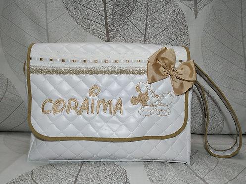 Bolso carro bebé con solapa personalizado-MODELO CORAIMA