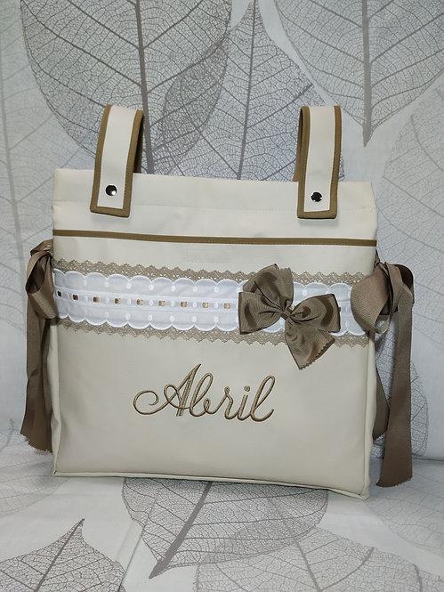 Bolso (Talega) para carro de bebé personalizado- MODELO ABRIL