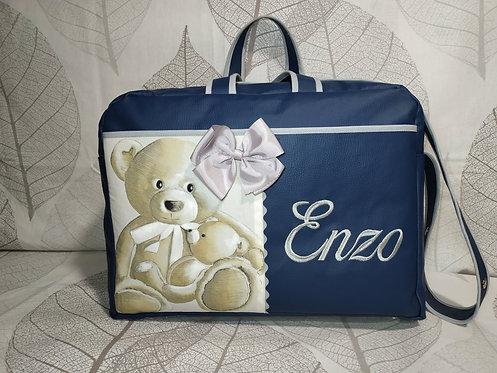 Bolso maternidad, hospital y carro bebé personalizado- MODELO ENZO OSOS