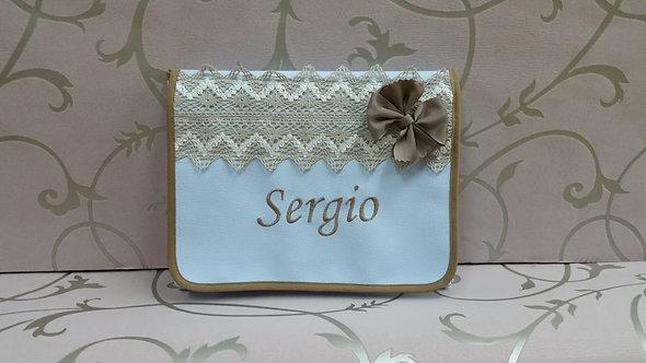 Cambiador plegable y portátil personalizado bebé- MODELO SERGIO