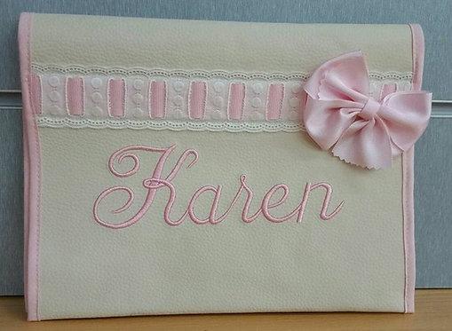 Portadocumentos personalizado bebé- MODELO KAREN