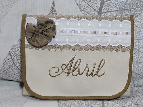 Cambiador bebé plegable personalizado- MODELO ABRIL