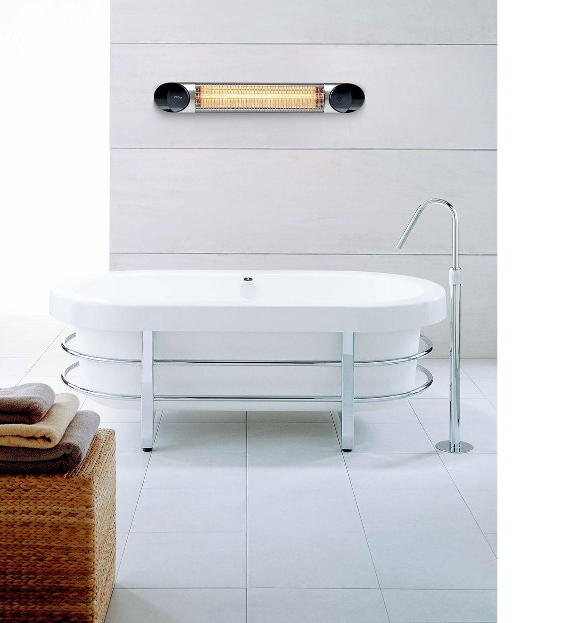 Calefactores de baño por infrarrojos