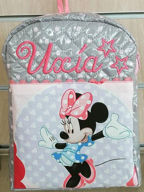 Mochila infantil personalizada Minnie Mouse-UXÍA