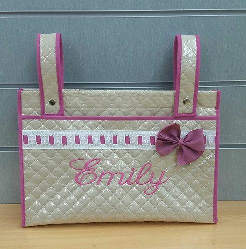 Bolso (panera-talega) carrito bebé personalizado-MODELO EMILY