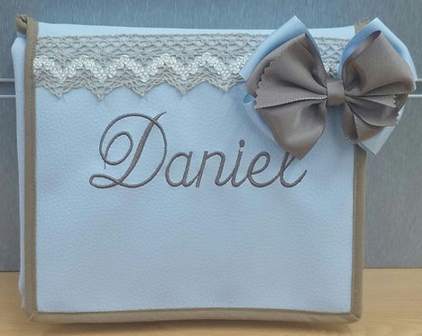 Cambiador Portátil plegable de Bolso Personalizado para bebé-MODELO DANIEL