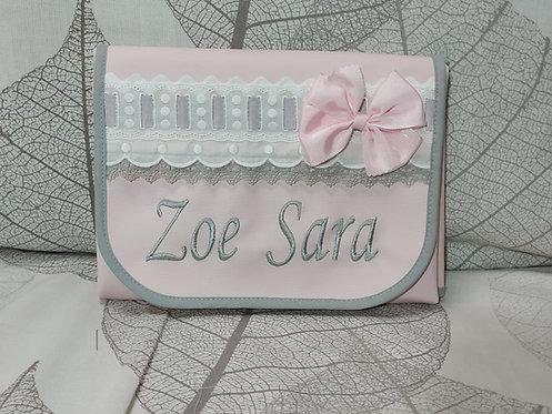 Cambiador bebé plegable personalizado- MODELO ZOE