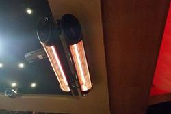 Estufas de infrarrojos para toldos