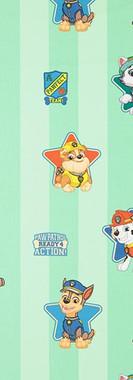 bata-escolar-patrulla-canina-personajes-grandes-fondo-verde