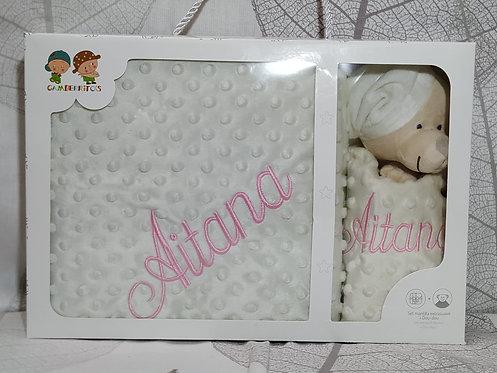 Manta bebé bordada + Atrapa sueños Dou-Dou- MODELO AITANA