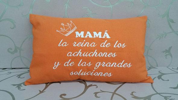 Cojín hecho a mano personalizado para el día de la madre- MODELO ACHUCHONES