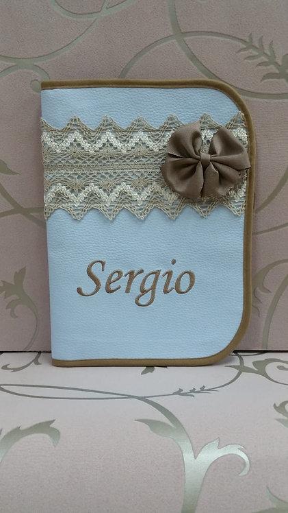 Portadocumentos personalizado bebé- MODELO SERGIO