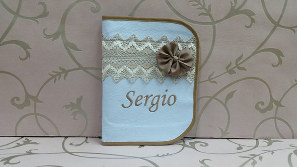 Portatoallitas bebé personalizado- MODELO SERGIO