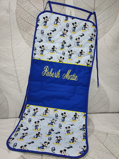 Funda-colchoneta para silla de paseo universal personalizada-MODELO MICKEY