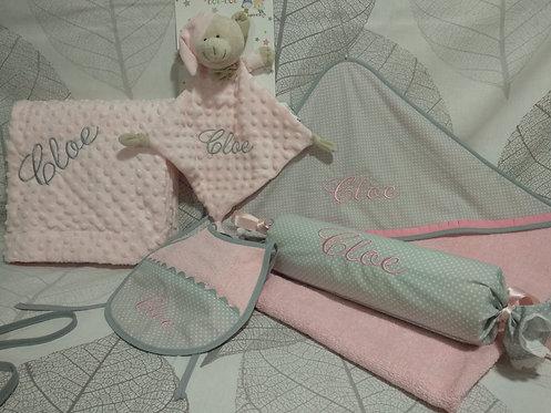 Canastilla bebé personalizada- MODELO CLOE