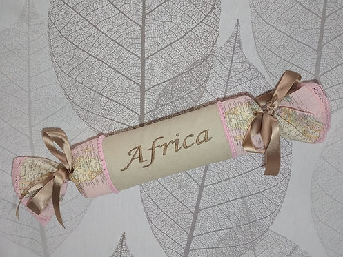 Cojín anti-vuelco bebé personalizado y bordado - MODELO AFRICA