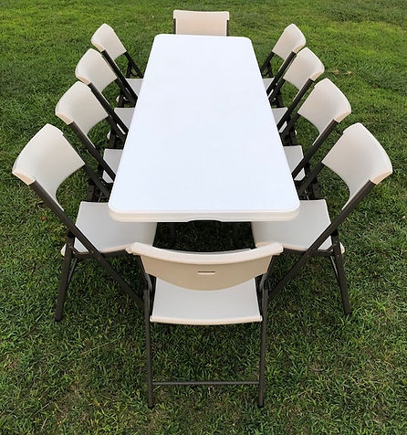 table rentals, chair rentals, party rentals, party equipment rentals, party rental equipment, party rentals near me, table and chair rentals, table & chair rentals, wedding equipment rentals, wedding rentals, 8ft. rectangular table rentals