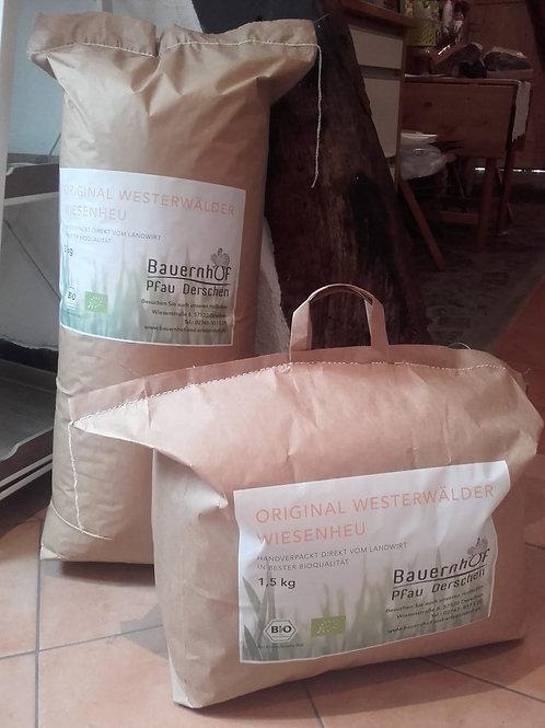 Westerwälder Bio - Wiesenheu 3,0 kg