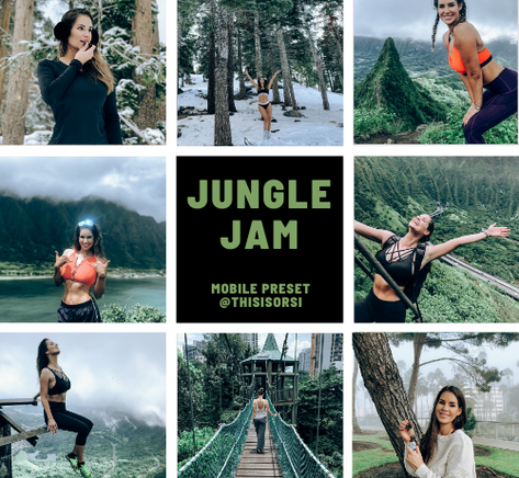 jungle jam lightroom preset