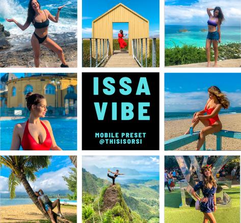 issa vibe lightroom preset