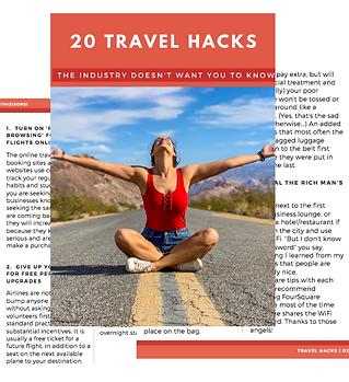 travel hacks woman freeway