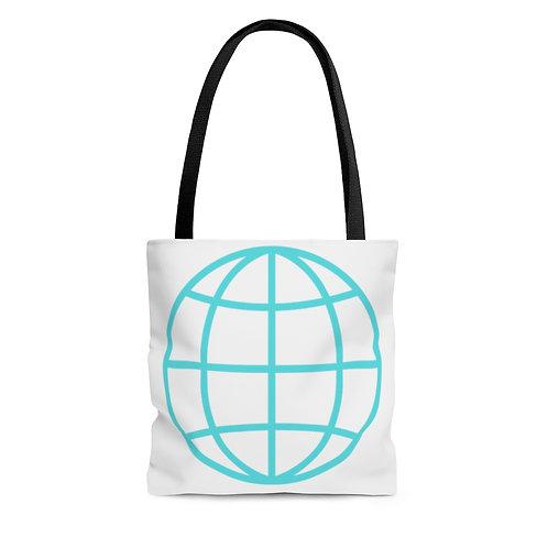 Tote Bag - Globe & Quote