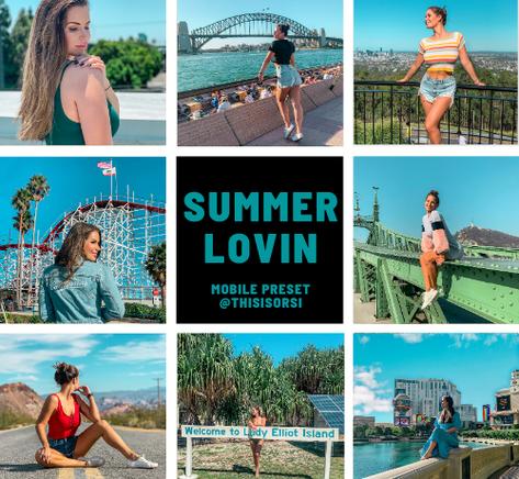 summer lovin lightroom preset