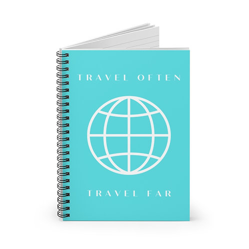 Spiral Notebook - Travel