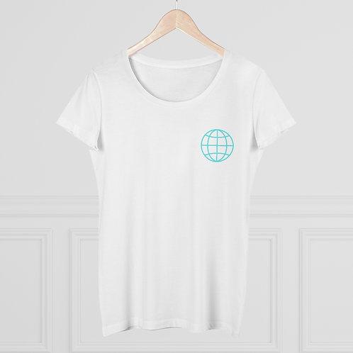 Organic Women's T-shirt - Globe