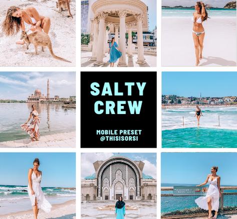 salty crew lightroom preset