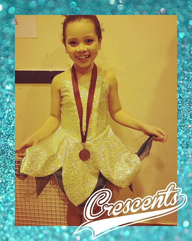 4th place for Niamh's Tinkerbell charact
