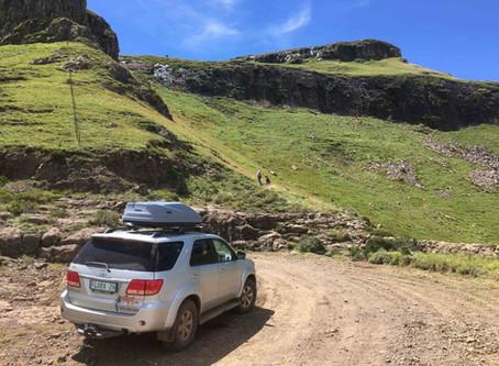 Zurück aus den Drakensbergen