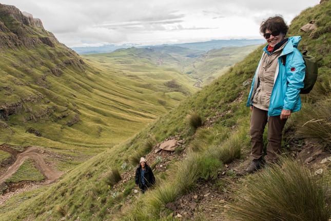 Botanisieren am Sani Pass