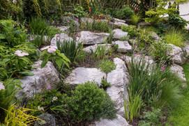 Der Steingarten Ende Mai 2019