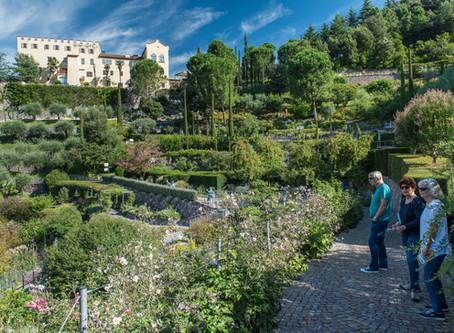 Die Gärten von Schloss Trautmannsdorff in Meran