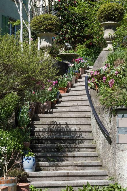 Treppensteigen angesagt!