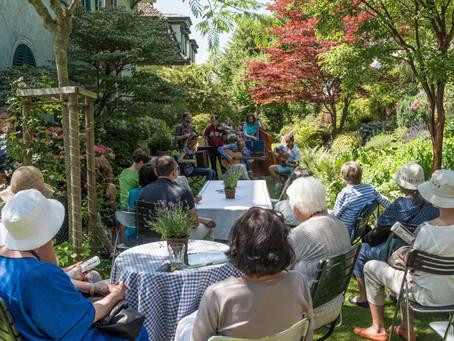 Gartentag mit Konzert