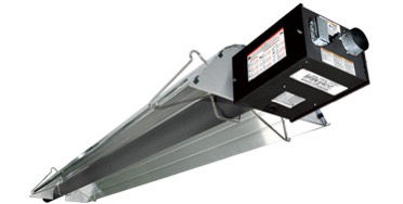 Radiant Tube Heater Installation