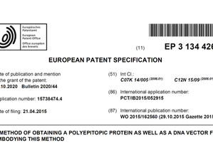 Patent for EU