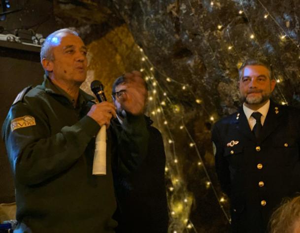 Il comandante delle Guardie di Veio, Fabio Neri