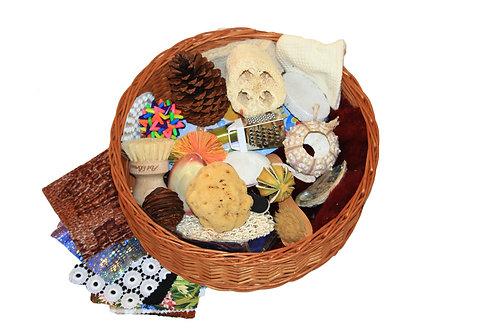 Early years sensory treasure basket - educational resource for nurseries